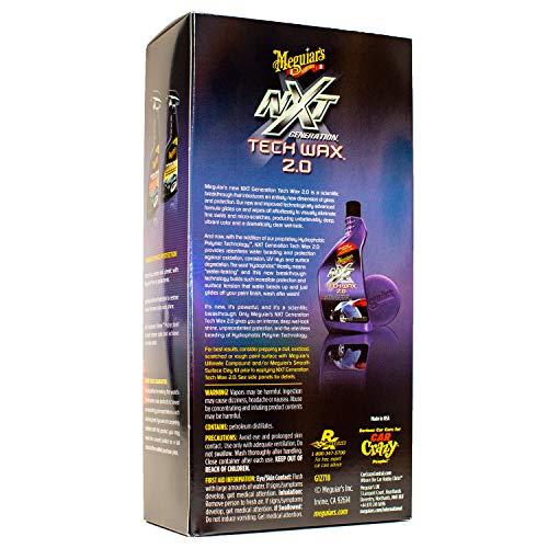Meguiar's G12718 NXT Generation Tech Wax 2.0, 18 fl oz
