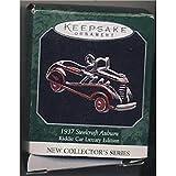 Hallmark Ornament 1998 1937 Steelcraft Auburn Luxury Edition Kiddie Car Classics Miniature