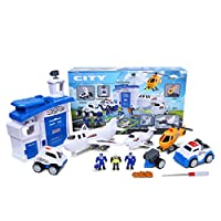 WinKing Future City Protector Deluxe Playset Creativity Learning Educational Toy