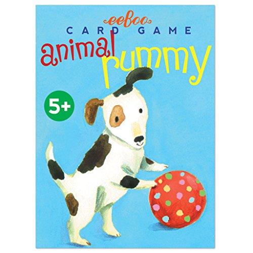 eeBoo, Game Card Rummy Animal