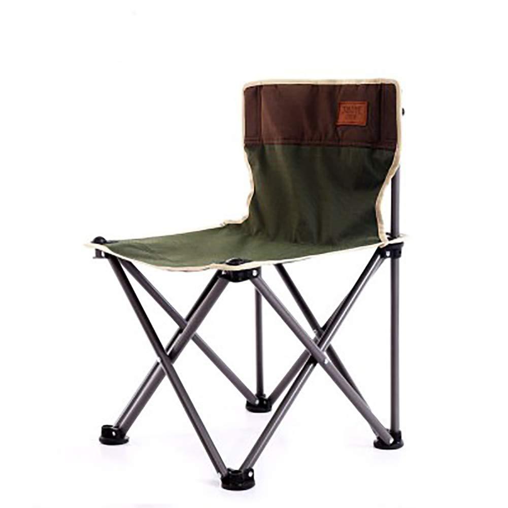 vert  ANFAY Chaise de Camping Pliante Pêche Randonnée Pique-Nique Jardin Sac de Transport extérieur Pliable,vert