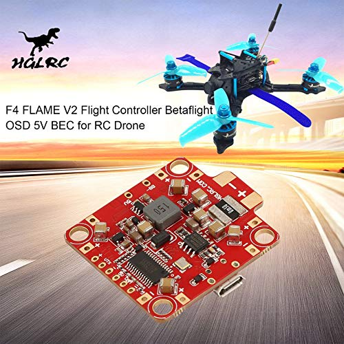Wikiwand HGLRC F4 Flame V2 Lipo Flight Controller Betaflight OSD 5V BEC for RC Drone by Wikiwand (Image #6)