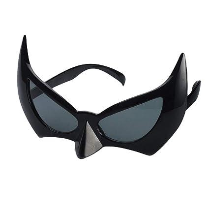 9cade01d3bc Amazon.com  LUOEM Bat Eye Glasses Batman Mask Sunglasses Batgirl Eye Mask  Photo Propss Halloween Cosplay Costume Masquerade Masks Party Decoration   Toys   ...
