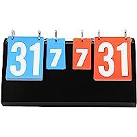 OKBY Cuadro de Indicadores - Tabla de puntuación de 4 dígitos de la Competencia Deportiva Cuadro de Indicadores para bádminton de Baloncesto de Tenis de Mesa