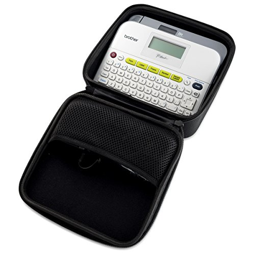 Caseling Hard Carry Case fits Brother P Touch Label Maker PTD400 PTD400AD or PTD450 Carrying Storage Travel Bag Protective Pouch ()