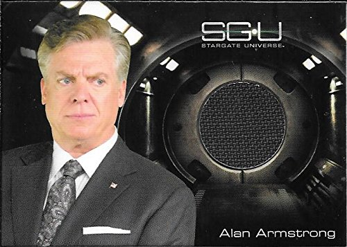 Superstar Movie Costume (2010 Stargate Universe Season 1 Costumes Alan Armstrong Grey Suit Relic Card)