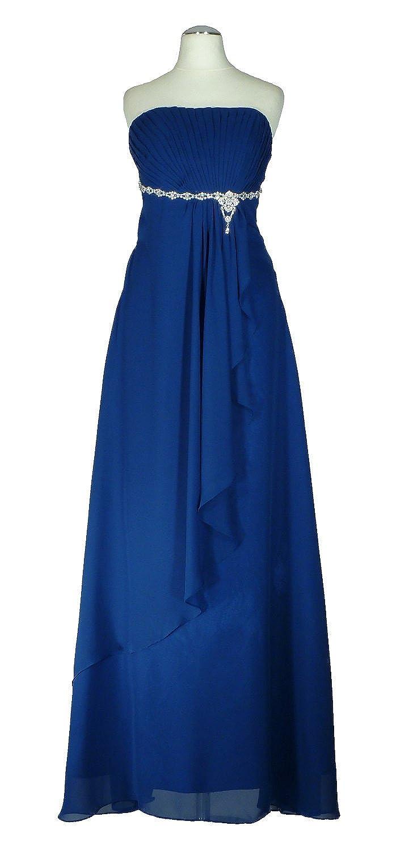 CH6003 - Samtlebe® - Bustier Abendkleid in Royalblau Gr. 42: Amazon.de:  Bekleidung