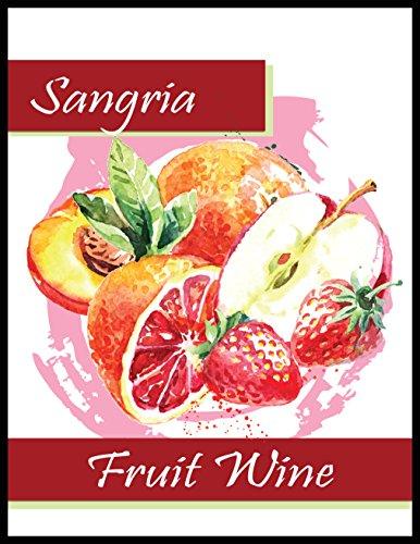 Sangria Fruit Wine Labels - Labels Wine Fruit