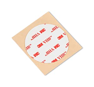"3M Adhesive Tape RP25, 1.5"" Diameter Circles (roll of 5)"
