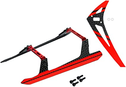RED Blade 180 CFX 150 S Microheli Aluminum//Carbon Fiber Landing Gear Y Style