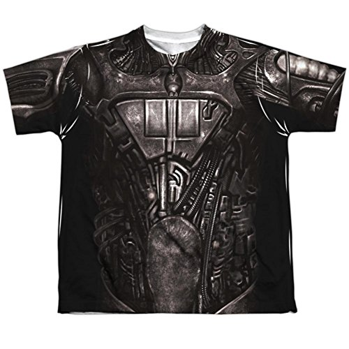 Youth: Star Trek- Borg Costume Tee Kids T-Shirt Size YL - Borg Costume Star Trek