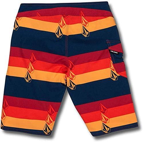 Boy's Lido Liney 18 Stripey Boardshort Indigo 22 [並行輸入品]