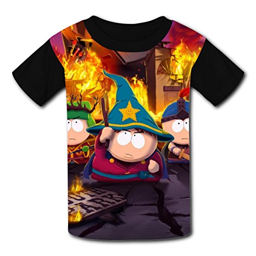 Kyle Broflovski Costumes (Cool Magic Eric T-shirts for Kids Tee Shirt Tops Short Sleeve Costume Boys Girls)