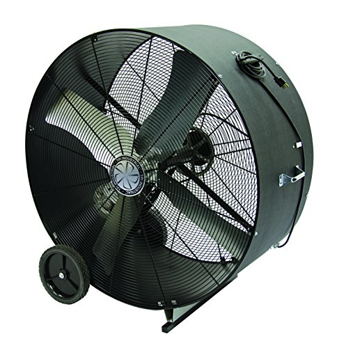Single Phase Belt Drive Blower (TPI Corporation PB-36-B Standard Belt Drive Portable Blower – Single Phase, 36