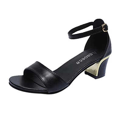 fb65b64a7563 Clearance Sale!OverDose Summer Women Shoes Pointed Toe Pumps Shoes High  Heels Boat Shoes Wedding Shoes  Amazon.co.uk  Clothing