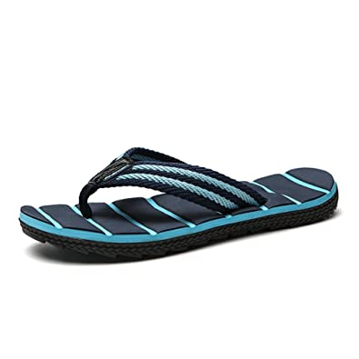 bd7acf203 NiNE CiF Men s Beach Pool Flip Flops Summer Rubber Thong Sandals (7 UK