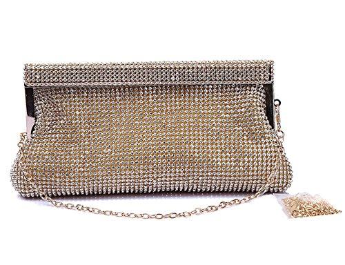 golden wallet Evening wedding clutch waistbag polyester Fashion Womens bag trends HopeEye 1 XxqnwAzPWC