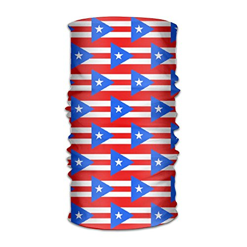 Price comparison product image Coring Puerto Rico Flag Magic Headwear Scarf Headbands Bandana Mask Neck Gaiter Head Wrap Mask Sweatband