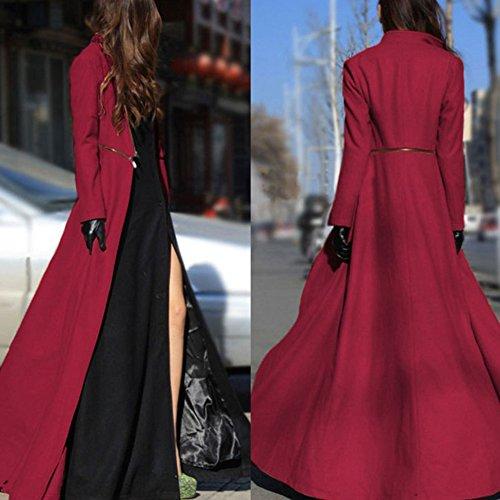 833b0c21234a Extra Automne Mode Manteau Manteau Color Printemps Laine Emvanv 3xl Long  Hiver Femme En Red Décontracté Camel Fin qRYB55tw