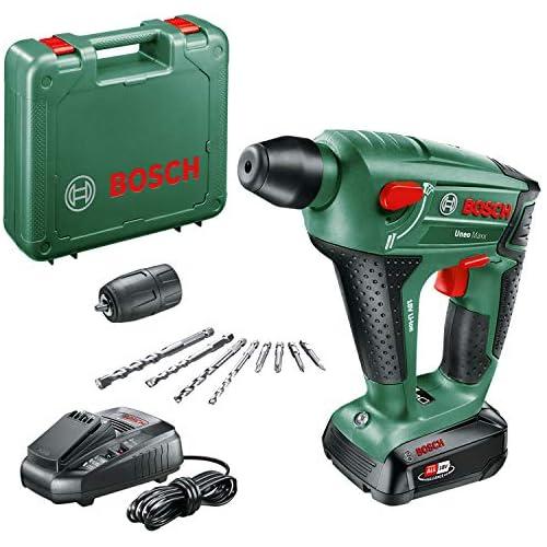 chollos oferta descuentos barato Bosch UneoMaxx Martillo perforador a batería 1 batería sistema de 18 V en maletín