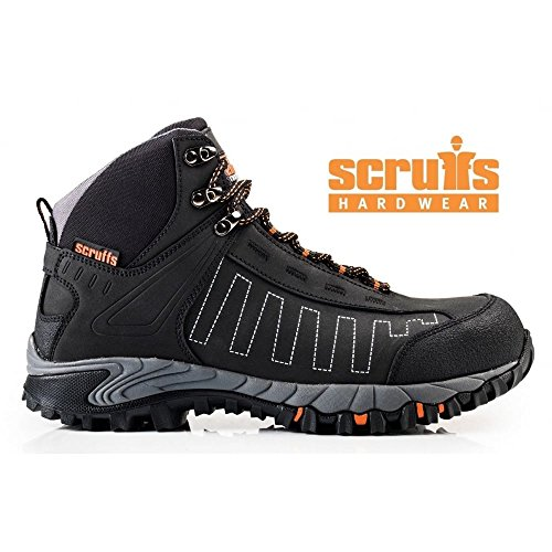 PROTEQCheviot Steifel S3 SRA HRO - Zapatos de Seguridad Unisex adulto Negro - negro