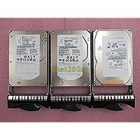 Lot of 3 IBM 39R7350 26K5842 146.8GB 15K RPM 8MB Hot-Swap SAS Hard Drive W/ Tray