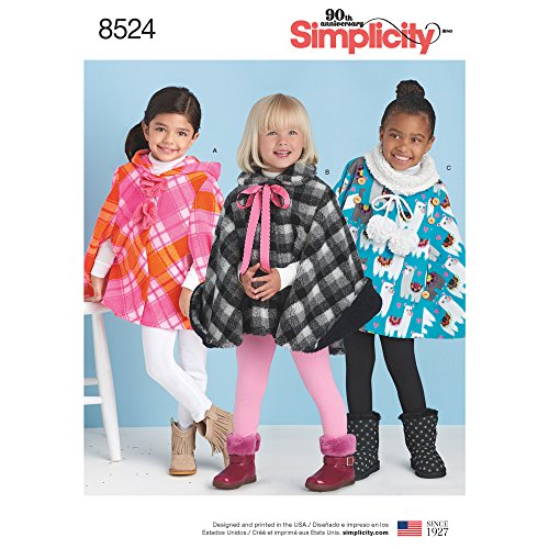 Simplicity Creative Patterns US8524A Sewing Pattern Children Dress Small/Medium/Large ()