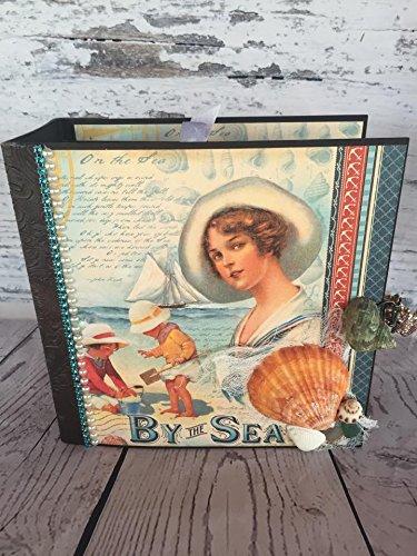 Handmade By The Sea Vacation Photo Album by Artsy Creativities