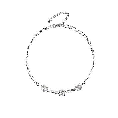 Mahi Swarovski Crystal Elements Bracelet for Women BR4101015RC  Amazon.in   Jewellery 74c916442