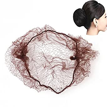 Hair Extensions & Wigs Qualified 40pcs High Quality Disposable High Quality Elastic Hairnets Dancing Or Sport Net Invisible Ballet Net
