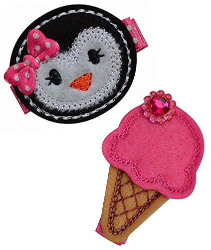 ice cream cone hair clip - 2