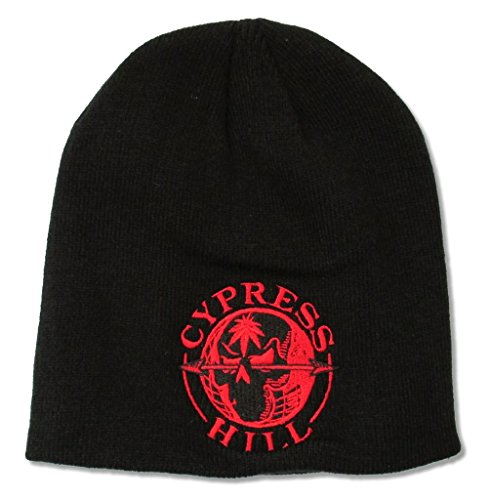 Cypress Hill Red Globe Black Knit Beanie Ski Hat (Cypress Hill Clothing compare prices)