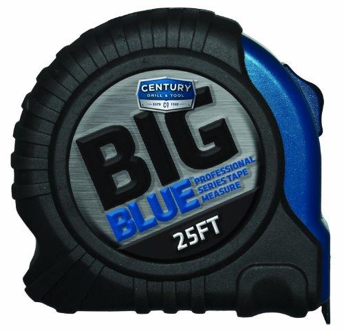 Century Drill and Tool - Cinta métrica (tamaño grande), color azul