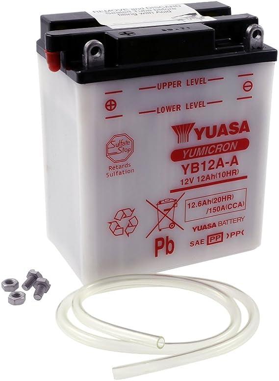 12v 12ah Yuasa Batterie Yb12a A 134 X 80 X 160 Mm Für Cb Cbx Cm Auto