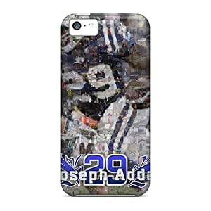 Awesome Indianapolis Colts Flip Case With Fashion Design For Iphone 5c
