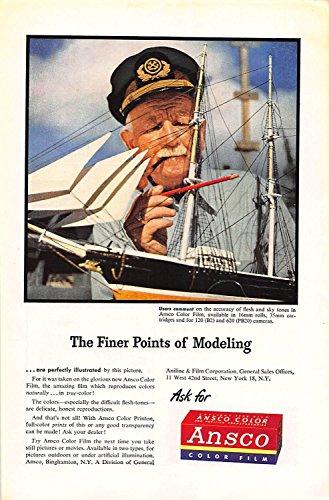 Ansco Film Color (Print Ad 1946 Ansco Aniline & Film Color Film)