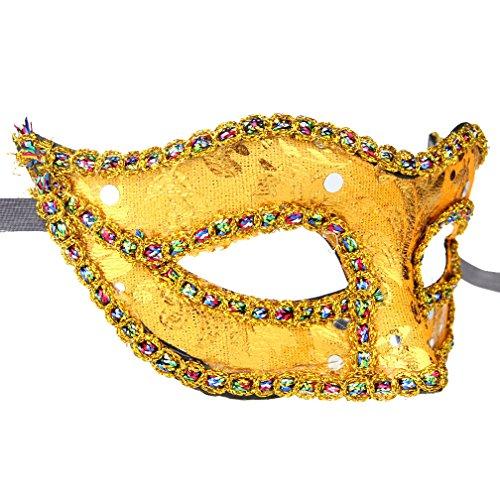 12pcs /set de baile de noche mascarada veneciana disfraces disfraces fiesta accesorio