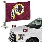 Promark NFL Washington Redskins Flag Set 2Piece Ambassador Stylewashington Redskins Flag Set 2Piece Ambassador Style, Team Color, One Size