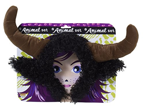 Kids Bull Costumes (Forum Novelties Unisex Playful Animals Bull Costume Accessory Set, Multi, One size)
