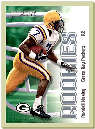 Tiger Rondelle - 2000 Skybox Impact #42 Rondell Mealey RC Rookie LSU TIGERS GREEN BAY PACKERS
