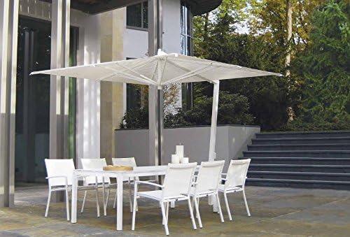 Fim Ischia MT. 3 x 2 marco aluminio color blanco toalla color blanco ...