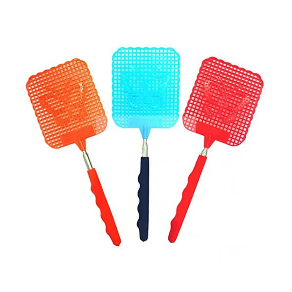 1 Pc Estensibile Fly Swatter previene parassiti zanzare Forte Flessibile Manuale Swat Zanzare Pat con Durevole Manico… 1 spesavip