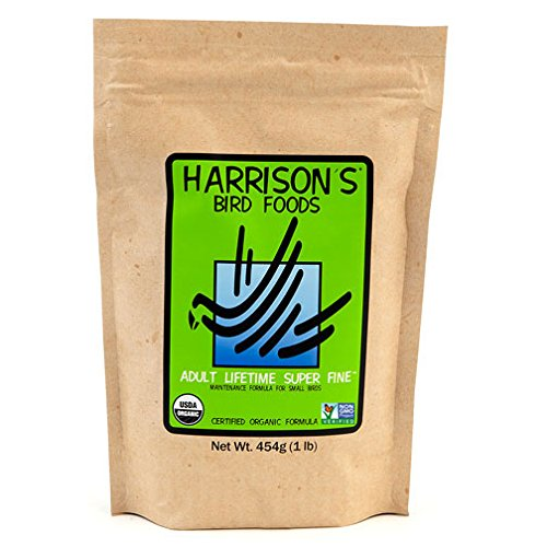 Harrison's Adult Lifetime Super Fine 1lb … Harrison' s Bird Foods ASF01