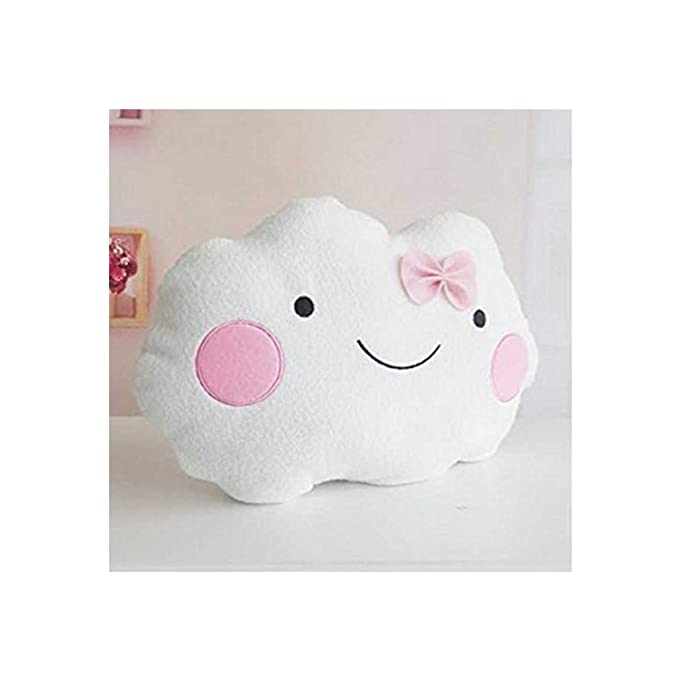 Amazon.com: Nubes Cute Smile almohada, cojín cojines de sofá ...