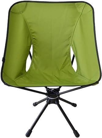 Silla Plegable Camping Silla De Ocio Giratoria De 360 Grados ...