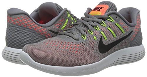 Nike-Mens-Lunarglide-8-DustBlackHyper-Orange-Running-Shoe-9-Men-US