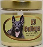 K9 COLLAGEN Hip & Joint Supplement for Dogs - Pure Collagen Dog Supplements for Healthy Joints - Improved Mobility - Better Overall Health of Dogs - Boosts Natural Collagen Production - 1 Month Supply