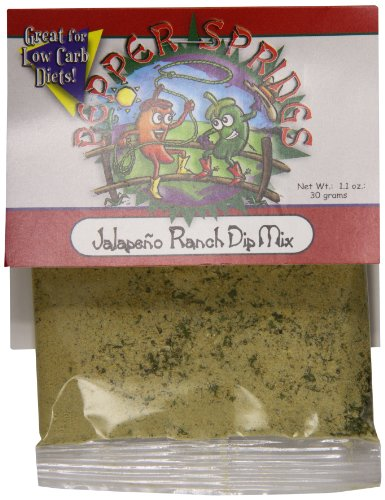 Mix Pepper Dip (Pepper Springs Jalapeno Ranch Dip Mix, 1.0 Ounce)