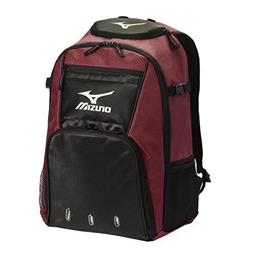 mizuno-organizer-g4-batpack-cardinal-black