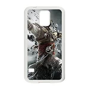 Samsung Galaxy S5 Cell Phone Case White Assassins Creed Black Flag BDY Phone Case 3D Unique
